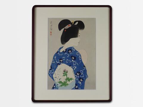 伊東深水の日本画を買取いたします。